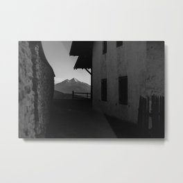 Window to the Mountains Metal Print