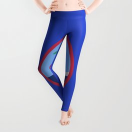 Guam flag emblem Leggings