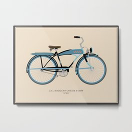 Vintage J.C. Higgins Bike Metal Print
