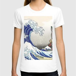 Legend of Zelda Great Wave Windwaker - the great wave off kanagawa T-shirt