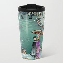 Ukiyo-e: Yuri on Ice Travel Mug