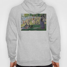Georges Seurat - A Sunday Afternoon on the Island of La Grande Jatte Hoody