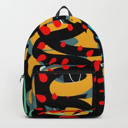 Energy Flow Abstract Art Life Backpack