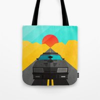 mad max Tote Bags featuring Max is Mad by Bakus