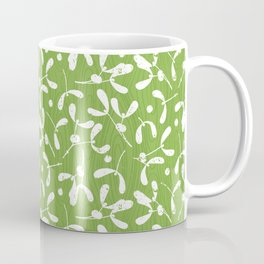 Rustic Mistletoe - Greenery Coffee Mug