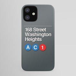 subway washington heights sign iPhone Case