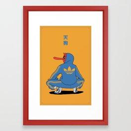 Tengu Framed Art Print