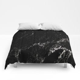 Black Marble #6 #decor #art #society6 Comforters