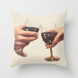 Primordial Wine Throw Pillow