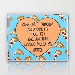 A Pizza My Heart Laptop & iPad Skin