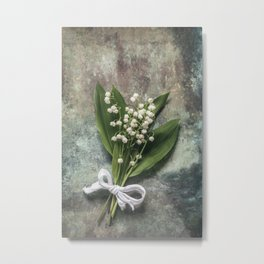 Beautiful Lily Of The Valley Metal Print