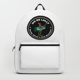 Alan A Dale - Oo de Lally Day Rooster Backpack