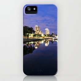 Riverside Blues iPhone Case
