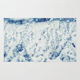 Blue Winter Rug