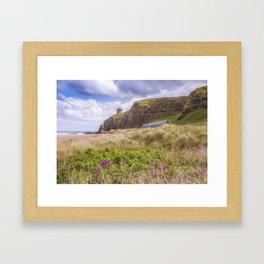 Downhill View Framed Art Print