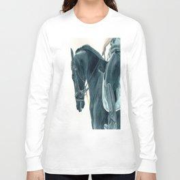 Friesian Horse 2 Long Sleeve T-shirt