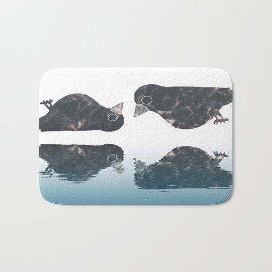 crow-182 Bath Mat