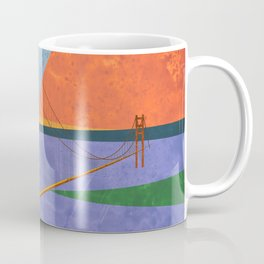 Golden Gate Bridge II Coffee Mug