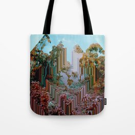 the crystal forest Tote Bag