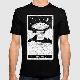 'The UFO' Tarot Card T-shirt