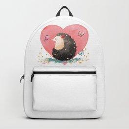 Love Heart Hedgehog Backpack