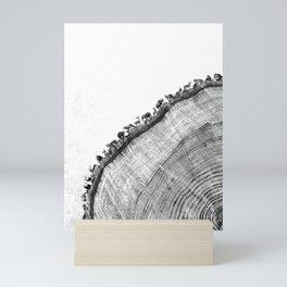Tree Ring Print Mini Art Print