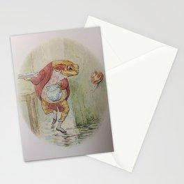 Jeremy Fisher by Beatrix Potter Stationery Cards