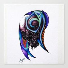 Night Brain Invasion Canvas Print