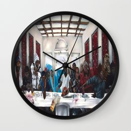 The Great Supper Wall Clock