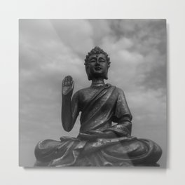 The Zen Buddha Metal Print