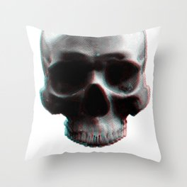 Rotted 3D Throw Pillow