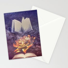 Enlightened Knowledge  Stationery Cards