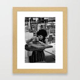 Concentration Framed Art Print