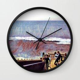 Grandview Lovers Wall Clock