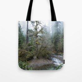A Creek Runs Through It Tote Bag