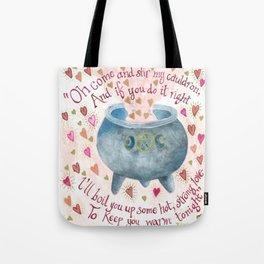 Cauldron of Love Tote Bag