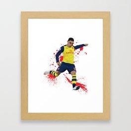 Alex Oxlade Chamberlain - Arsenal FC Framed Art Print