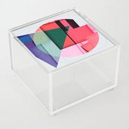 a lid fits on each pot Acrylic Box
