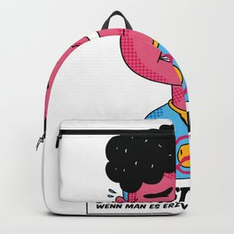 Luck and Poop Backpack