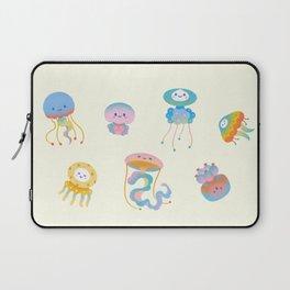 Pastel Jellyfish Laptop Sleeve