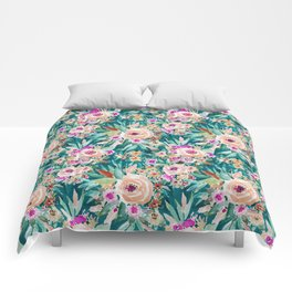 GOOD LIFE Colorful Floral Comforters