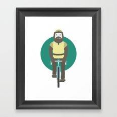 Cyclesquatch Framed Art Print