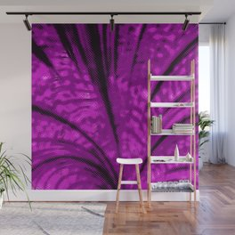 Dotted Power,magenta Wall Mural