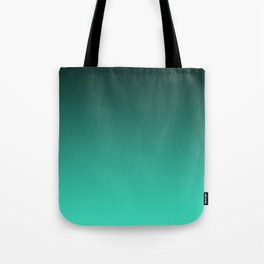 Turquoise Ombre. Tote Bag