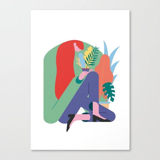 Plant lover Canvas Print