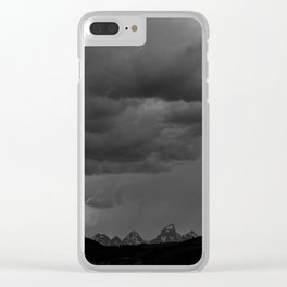 the wonder of rain Clear iPhone Case