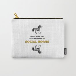 Social Norms Carry-All Pouch
