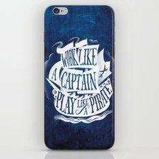like a pirate iPhone & iPod Skin