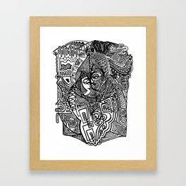 Intimacy Framed Art Print