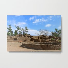 Aztec Ruins New Mexico Metal Print